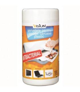 Servetele detergent curatare suprafete 100/Set VISION