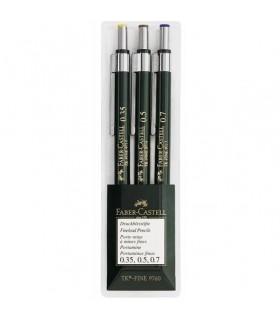Set 3 bucati creione mecanice TK-Fine FABER - CASTELL