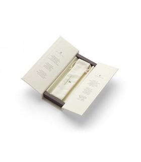 Stilou cu penita aurita 18 K, Guilloche negru, varf M, FABER-CASTELL