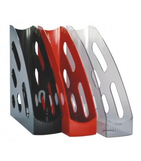 Suport documente vertical plastic, diverse culori FLARO