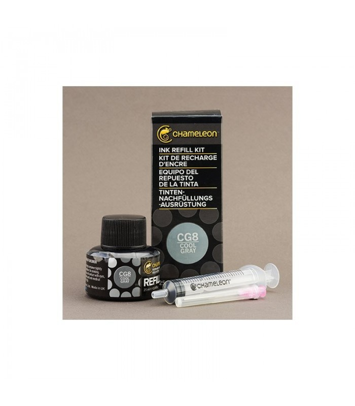 Cerneala marker Cool Grey 25 ml CG8 CHAMELEON