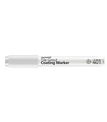 Marker permanent pentru rosturi alb mat, model 401 MONAMI