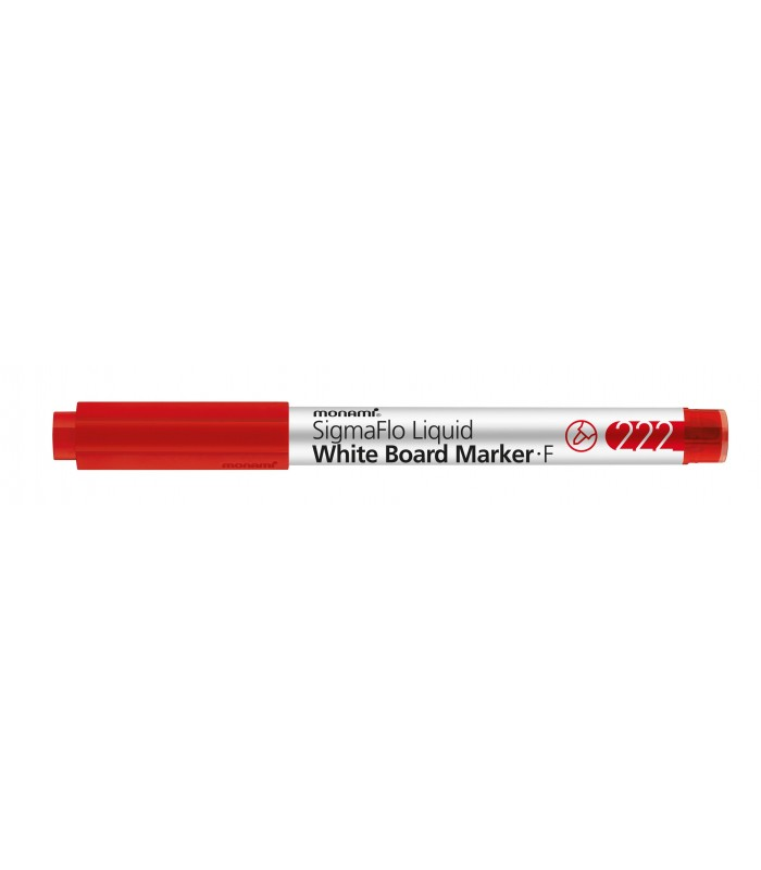 Marker whiteboard rosu 222 SigmaFlo, varf 1.3 mm MONAMI