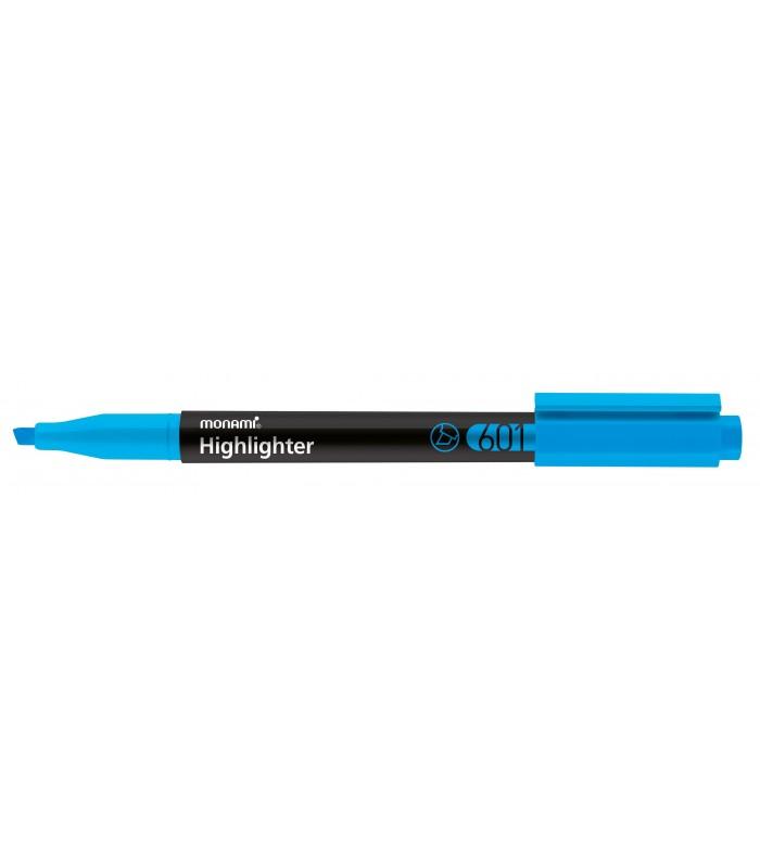 Textmarker albastru, varf tesit 1.0 - 4.0 mm MONAMI