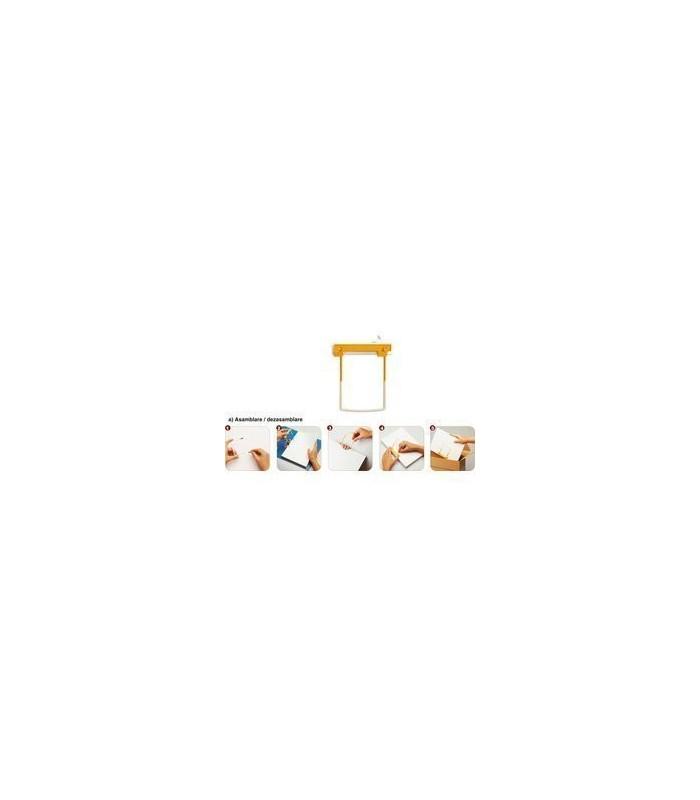 Alonja arhivare de mare capacitate, 100/cutie, culoare galbena, JALEMA Clip