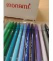 Liner albastru, varf 0.4 mm Plus Pen 3000 MONAMI