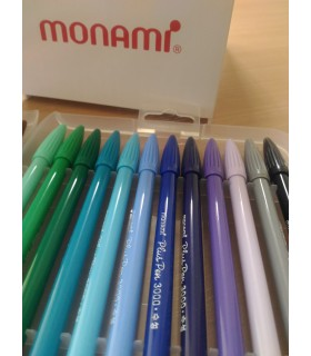 Liner verde 0.4 mm Plus Pen 3000 MONAMI