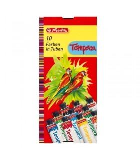 Acuarele tempera 10 culori 16 ml HERLITZ