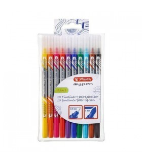 Fineliner + carioca My.Pen 10/set HERLITZ