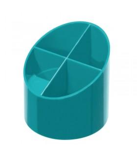 Suport plastic pentru instrumente de scris, 4 compartimente HERLITZ