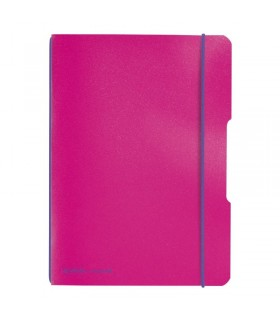 Caiet A5, 40 file, My.Book Flex, coperta fucsia HERLITZ