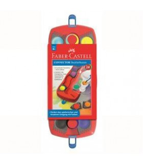 Acuarele Connector 24 culori FABER-CASTELL