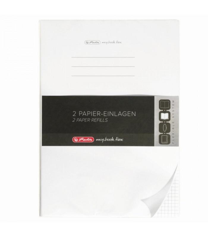 Rezerva My.Book Flex A4 40 file 80g matematica set 5 bucati HERLITZ