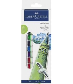 Culori ulei 12 culori/set FABER-CASTELL