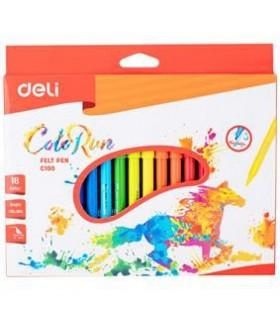 Carioci 18 culori DELI