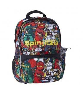 Ghiozdan scoala Freshman + sac sport NinjaGo Comic LEGO