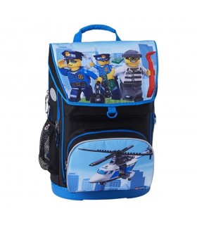 Ghiozdan scoala Maxi + sac sport City Police Chopper LEGO