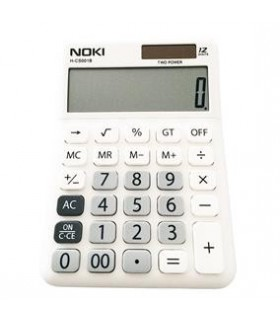 Calculator birou 12 Digiti HCS001 Alb NOKI