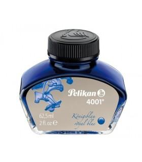Cerneala 4001 la borcan, 62.5 ml, albastru royal PELIKAN