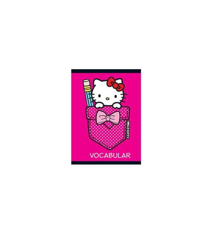 Vocabular 12 x 17 cm, 24 file, Hello Kitty PIGNA