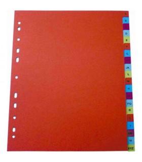 Index plastic numeric 1-12, A4 +, 125 microni, color OPTIMA
