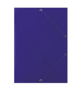 Mapa din carton plastifiat, cu elastic pe colturi, 400gsm, DONAU Culoare: Portocaliu