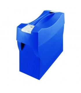 Suport plastic cu capac pentru 20 dosare HAN Swing Plus