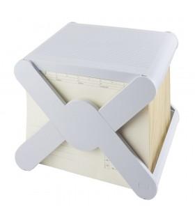 Suport plastic cu capac pentru 35 dosare HAN X-Cross Top