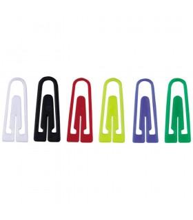Agrafe birou color, plastic, 26 mm, 100/cutie, ALCO