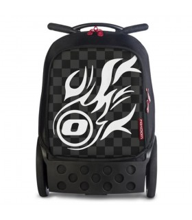 Ghiozdan White Fire Roller NIKIDOM + sac sport CADOU