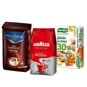 Cafea, ceai si produse complementare