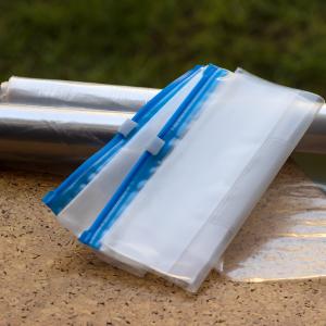 Pungi de plastic cu fermoar