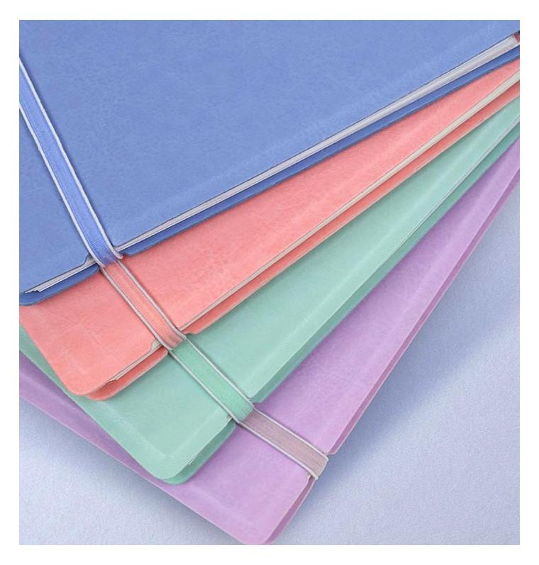 Agenda Notebook Classic Pastels cu spirala si rezerve A4 Orchid FILOFAX