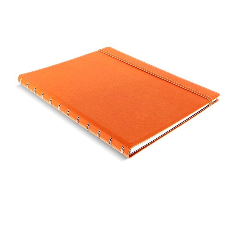 Agenda Notebook Classic cu spirala si rezerve A4 Orange FILOFAX