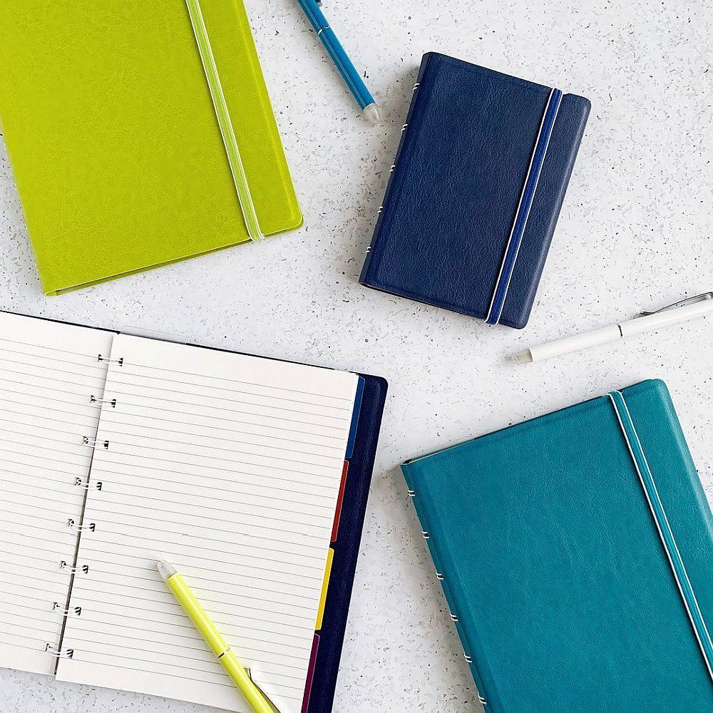 Agenda Notebook Classic cu spirala si rezerve A5 Pear FILOFAX