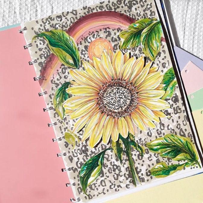 Agenda Notebook Classic cu spirala si rezerve A5 Rose FILOFAX