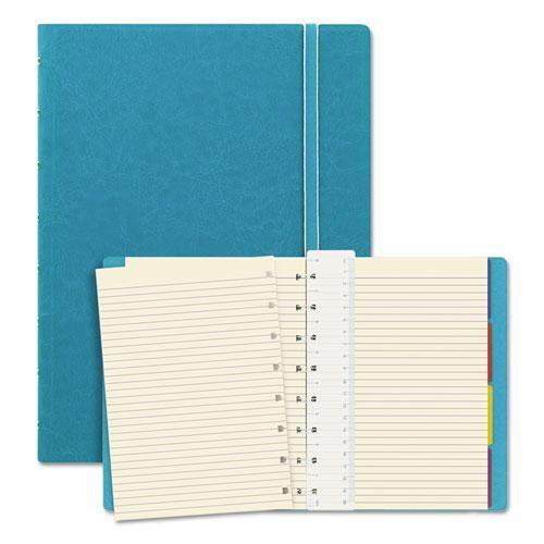 Agenda Notebook Classic cu spirala si rezerve A4 Aqua FILOFAX