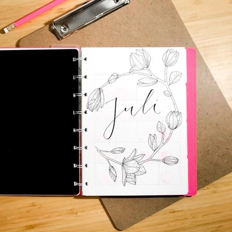 Agenda Notebook Saffiano cu spirala si rezerve A5 Peony FILOFAX