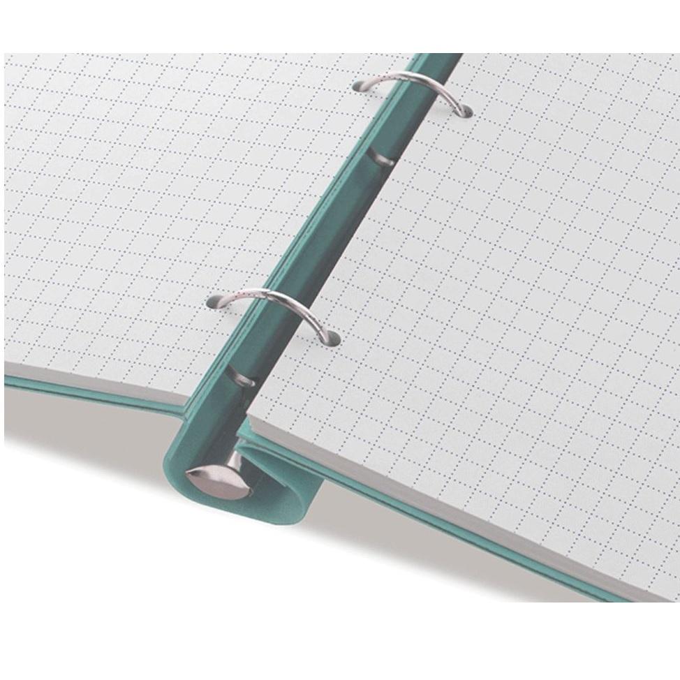Rezerva hartie FILOFAX asortata 60buc/set A4, compatibila agenda si Clipbook Filofax