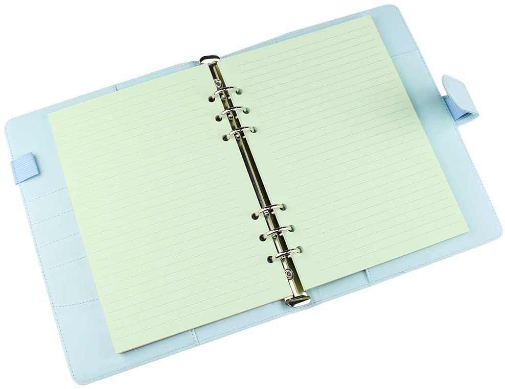 Rezerva hartie dictando 60 buc/set A5 compatibila cu Agendele Organiser si Clipbook-urile FILOFAX