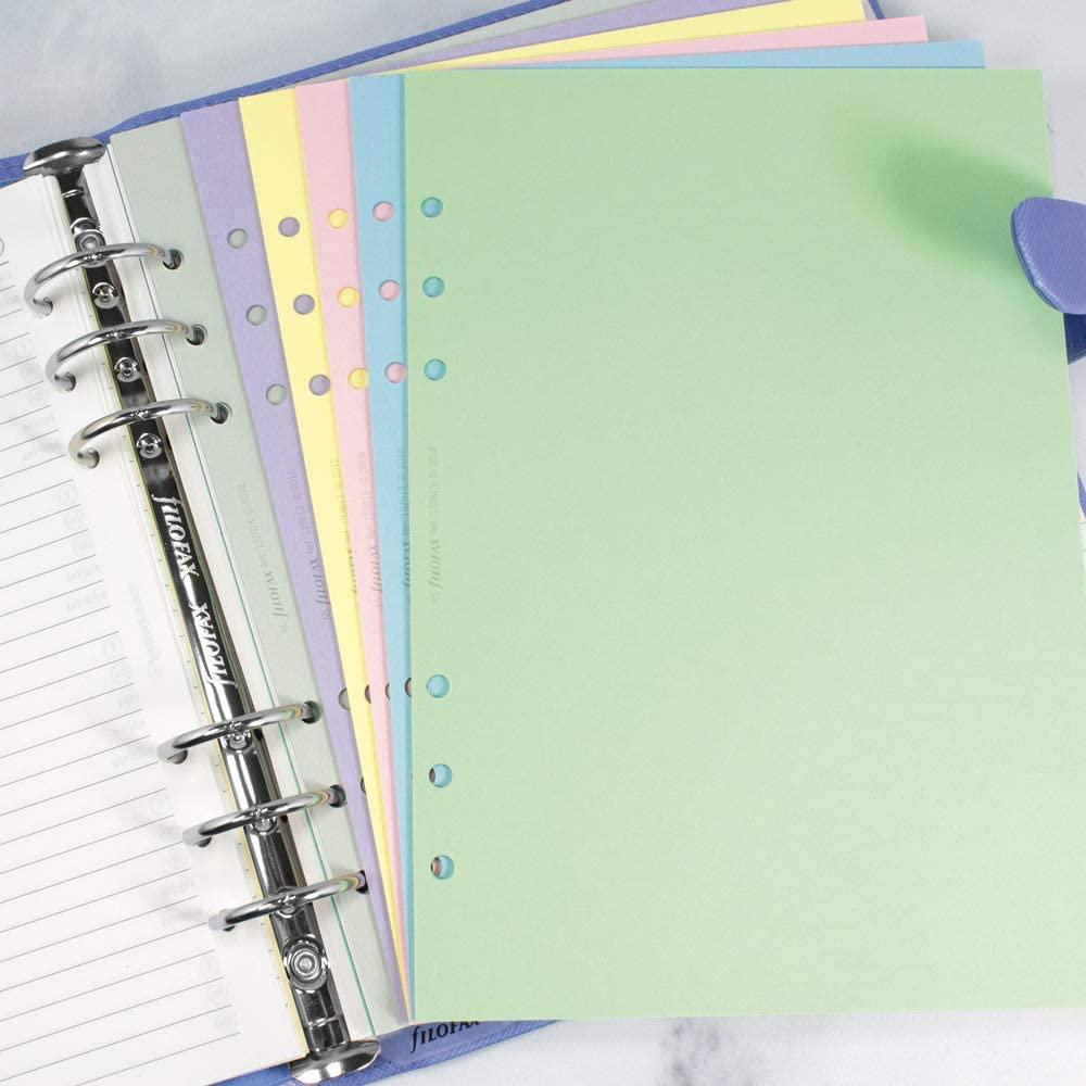 Rezerva hartie velina 60 buc/set A5 compatibila cu Agendele Organiser si Clipbook-urile FILOFAX