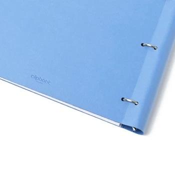 Agenda Clipbook Classic cu inel si rezerve A4 Vista Blue FILOFAX