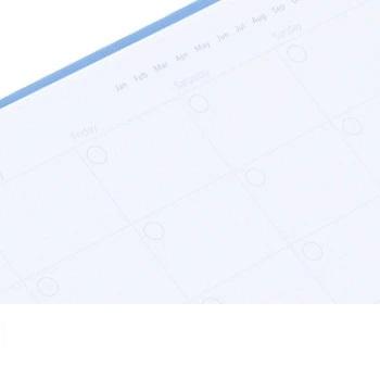 Agenda Clipbook Classic cu inel si rezerve A4 Duck Egg FILOFAX
