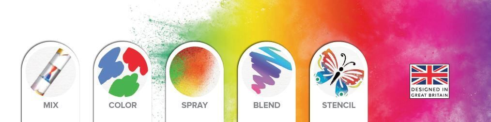 Kit creativ 20 culori Spray Station CHAMELEON PENS KIDZ