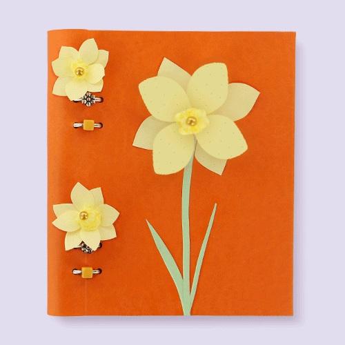 Agenda Clipbook Classic cu inel si rezerve A5 Orange FILOFAX
