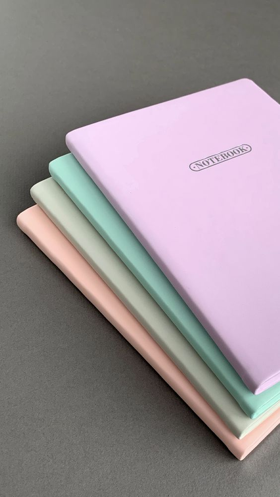 Agenda Notebook A6 Pastel Lilac LETTS